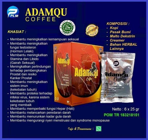 Adamqu Coffe Meningkatkan Stamina Seksual (WA 081553966958)